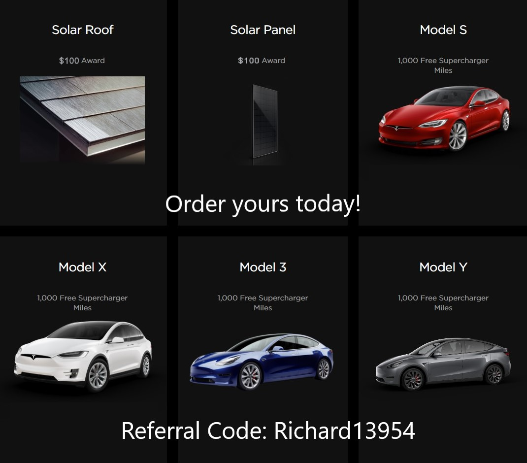 Tesla Referral Code